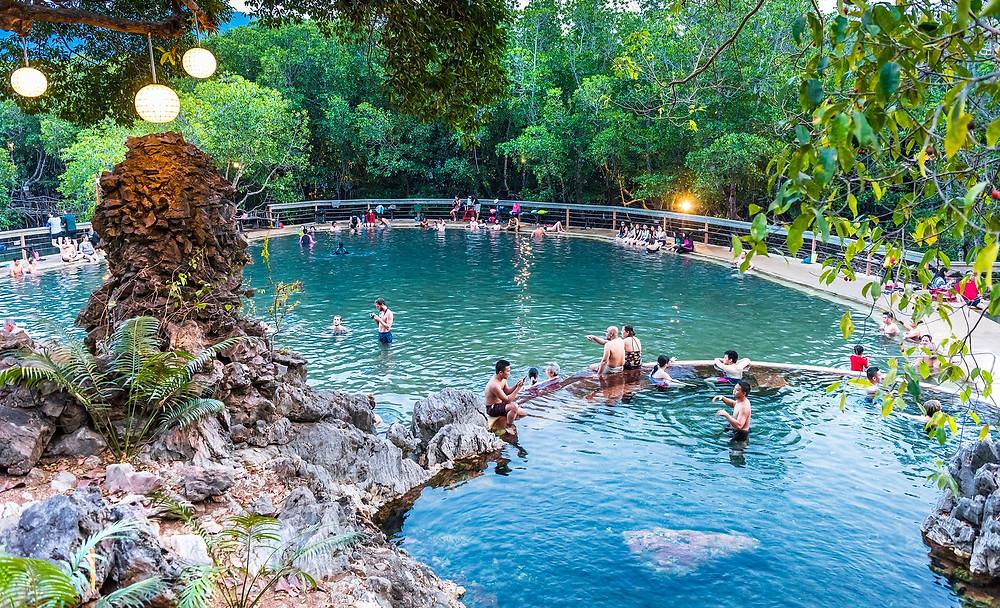Maquinit Hot Spring Palawan