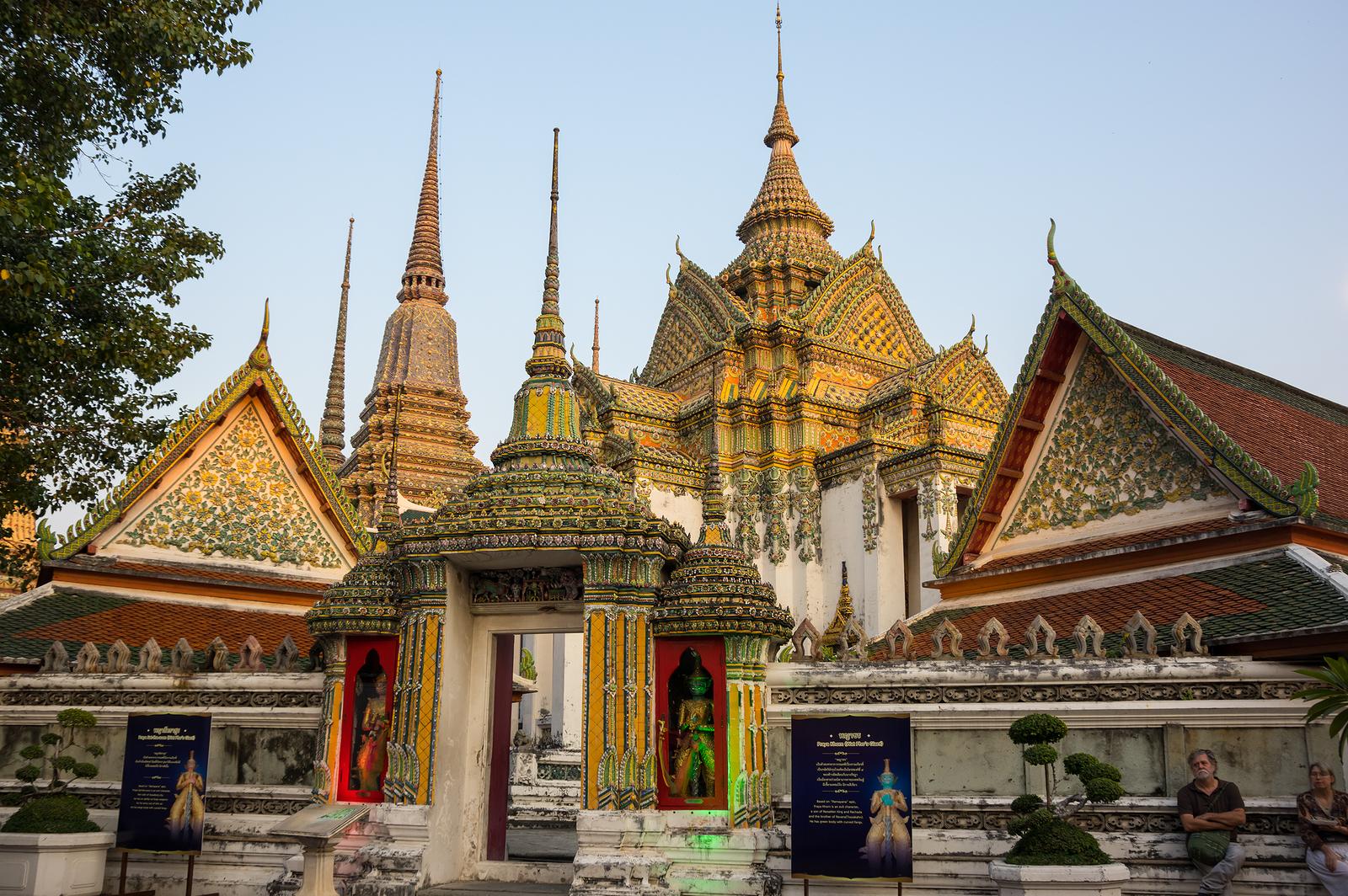 Wat Pho Temple bangkok Thailand Tour