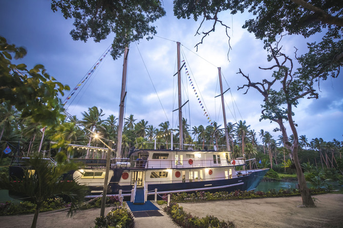 Serenity - The luxury sailing boat of Fiji