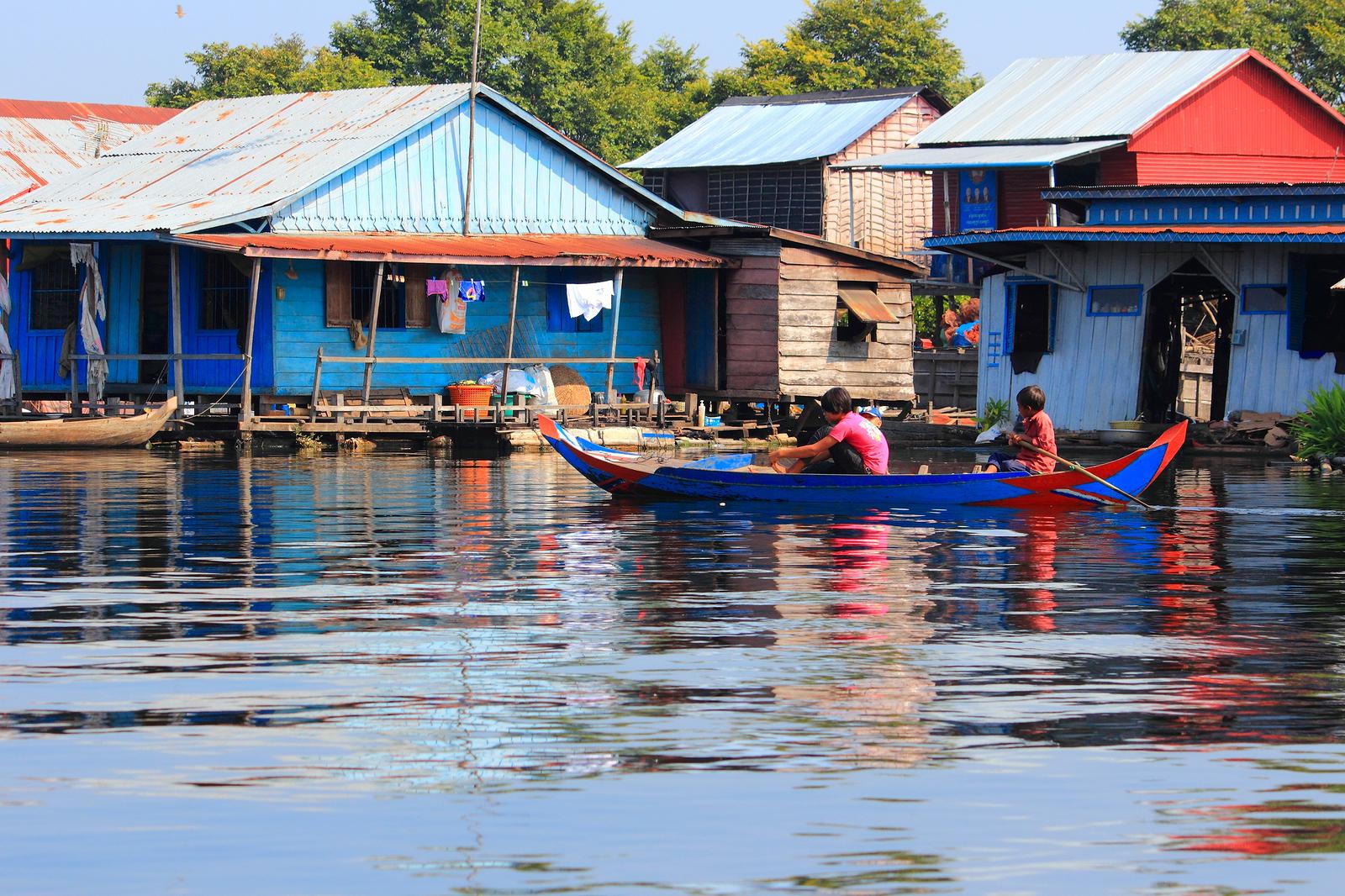 Tonle Sap lake Cambodia Ehabla Trave
