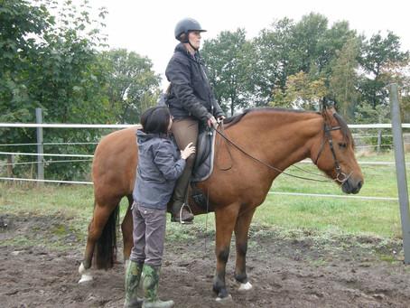 初乗馬&騎手へのアレクサンダー・テクニークレッスン
