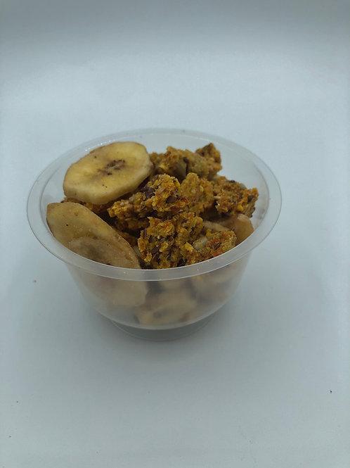 Banane - Cookie à la carotte