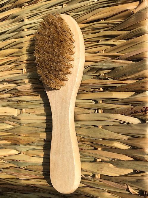 Brosse en poil de soie naturel