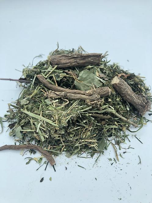 La tisane à croquer Persil- racine de Pissenlit- Bouleau-Ortie