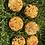 Thumbnail: Lot de 6 biscuits à base de carottes «banane-fraise-myrtille»