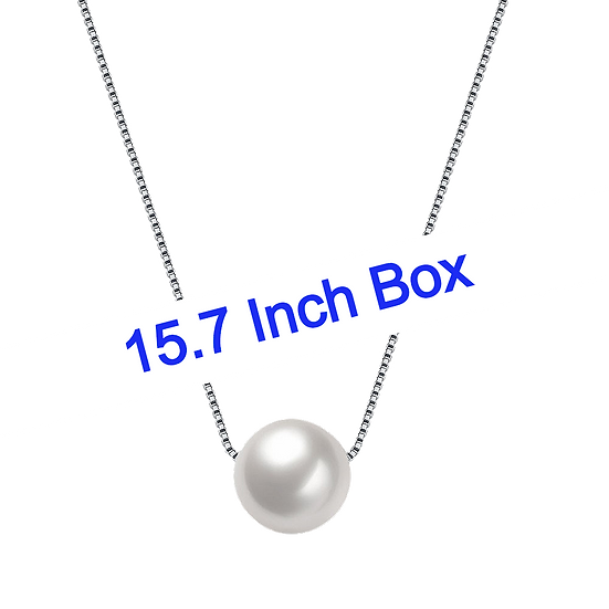 Necklace 925 Sterling Silver with Freshwater Pearl