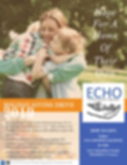 ECHO Holiday Giving Campaign Thanksgivin