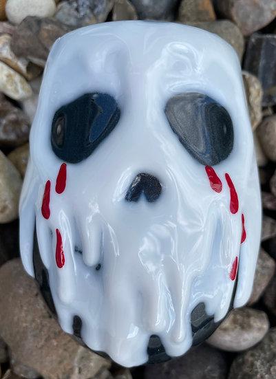18 oz. 3D Skull Tumbler