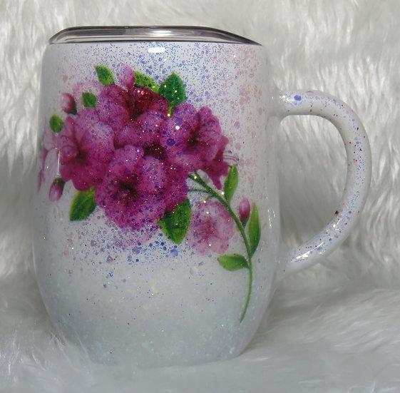 12 oz. Glittered Coffee Mug