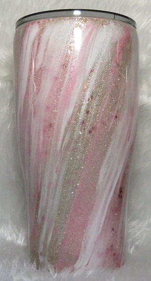 32 oz. Glittered Milky Way Effect Tumbler