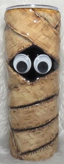 20 oz. 3D Mummy Tumbler