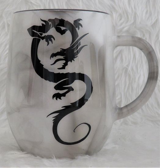 12 oz. Smoke Effect Dragon Coffee Mug