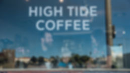 HIGH TIDE COFFEE CO San Clemente Store Window