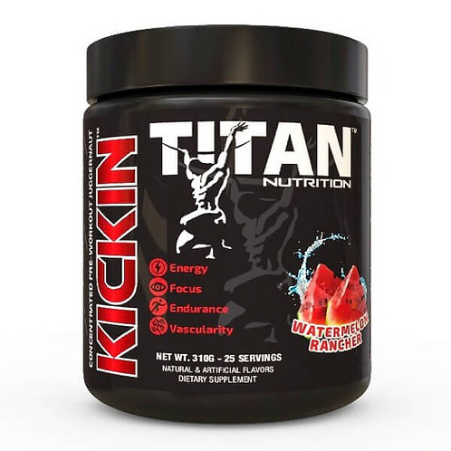 Titan KickIn™ – Concentrated Pre-Workout Juggernaut