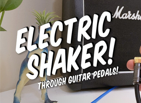 First glimpse of SHAKE: The Electric Shaker