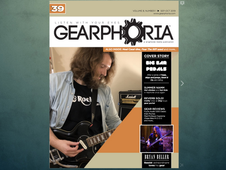 We're on the cover of Gearphoria!