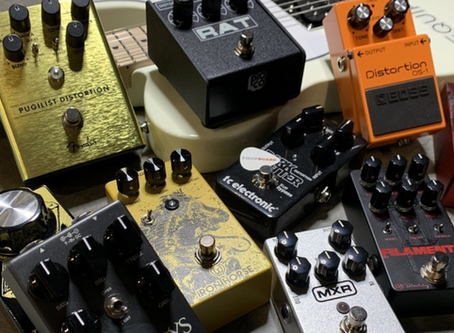 """WOODCUTTER featured on Equipboard's """"11 Best Distortion Pedals for Guitar.."""""""