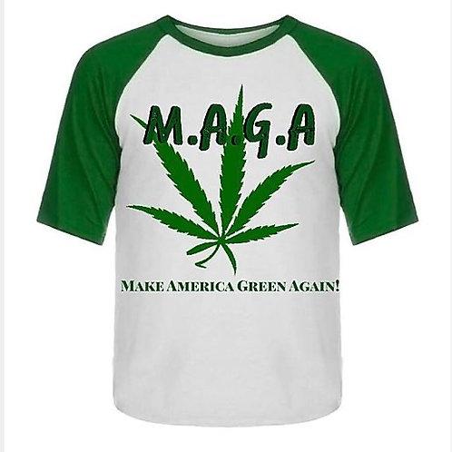 """""""M.A.G.A."""" Men's T-shirt"""