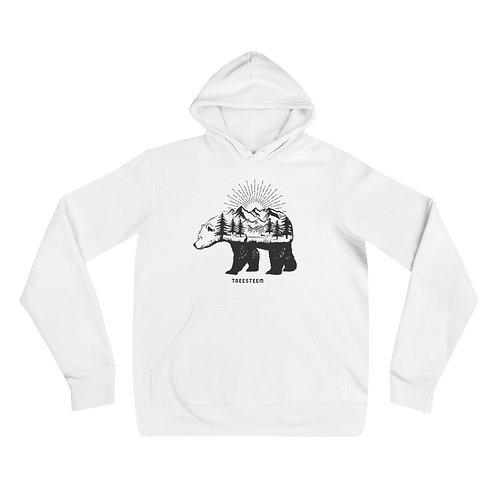 Landscape Bear Unisex Hoodie