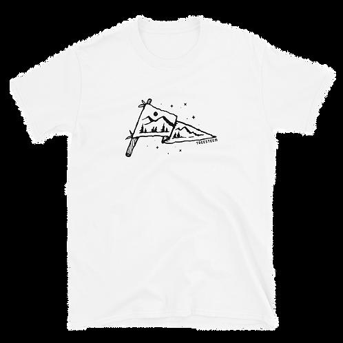 Mountain Flag Unisex T-Shirt - Front Print