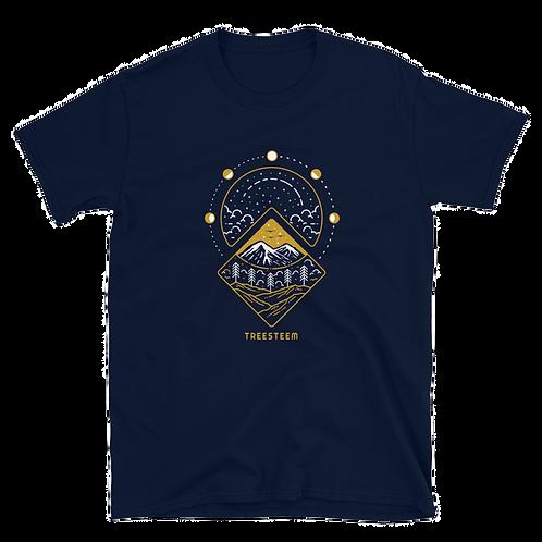 Lunar Cycle Unisex T-Shirt - Front Print