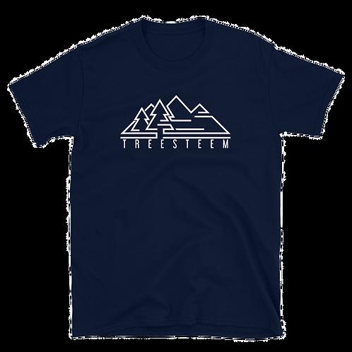 White Logo Unisex T-Shirt - Front Print