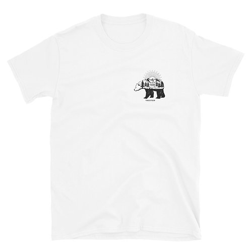 Landscape Bear Unisex T-Shirt - Chest Print