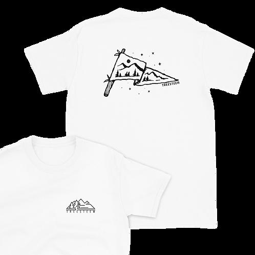 Mountain Flag Unisex T-Shirt - Back Print