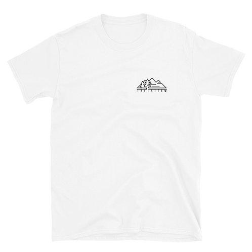 Black Logo Unisex T-Shirt - Chest Print