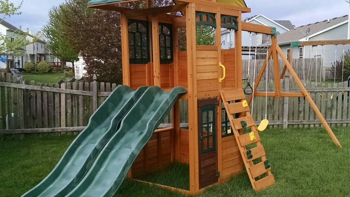 Swing Set Installation
