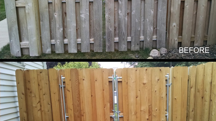 Privacy Fence Building and Staining