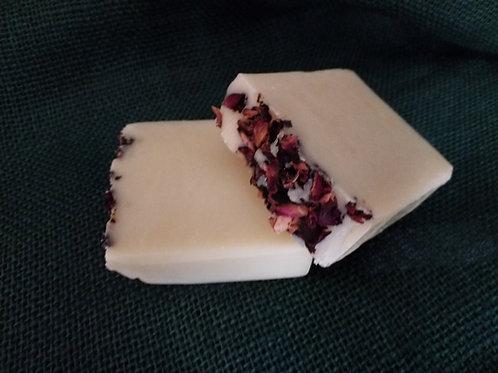 Pure Wix Handmade Rose Garden Vegan Soap 2 Large Bars