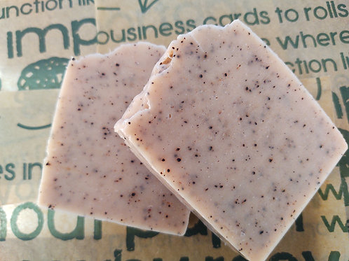 Pure Wix Handmade Pink Clay and Rosehip Vegan Soap 2 Large Bars