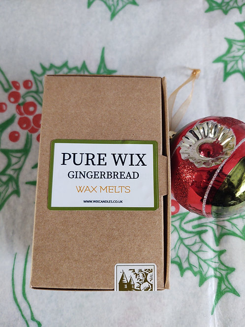 Gingerbread Wax Melts 8 Pack With 4 Tea Lights