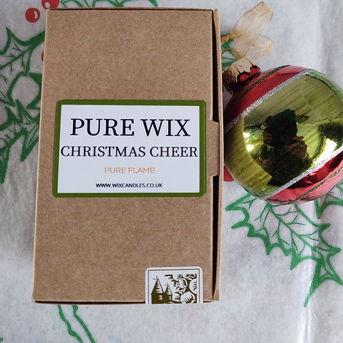 Christmas Cheer Wax Melts 8 Pack With 4 Tea Lights