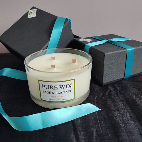 Superbly Sumptuous 3 Maple Wick Extra Large Candle