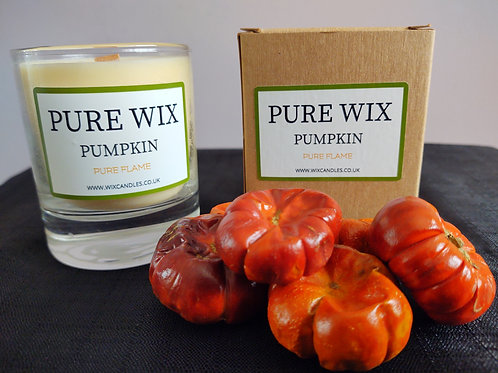Pumpkin Maple Wick Luxury Candle