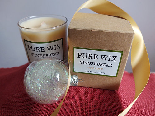 Gingerbread Maple Wick Luxury Candle