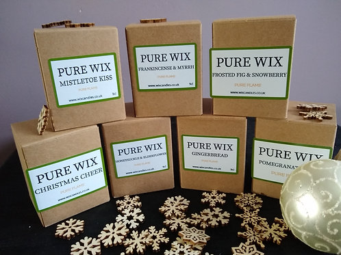 Pure Wix Select your own 4 Baby 9cl Candles.