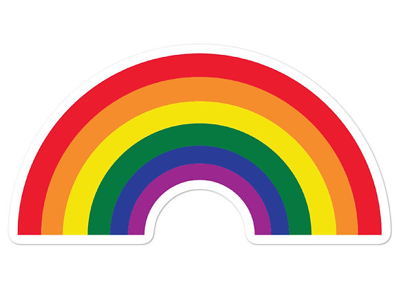 Pride Rainbow - Bubble-Free Stickers