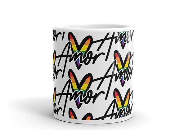 Pride Amor Pattern Mug