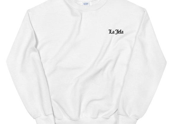 La Jefa Sweatshirt - Black Embroidery