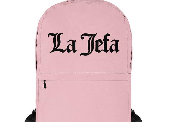 La Jefa - Pink Backpack