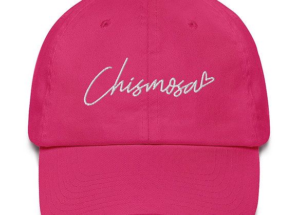 Chismosa <3 Mom Hat - White Embroidery