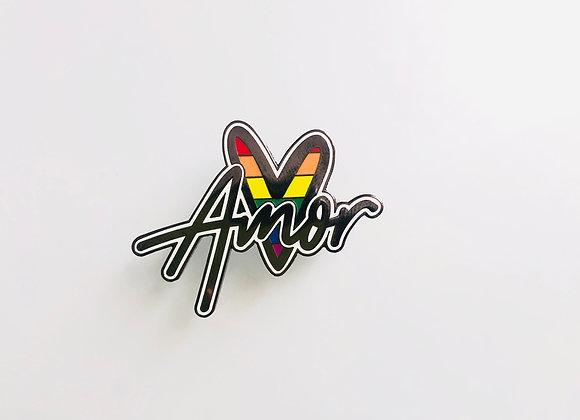 Pride Amor Pin