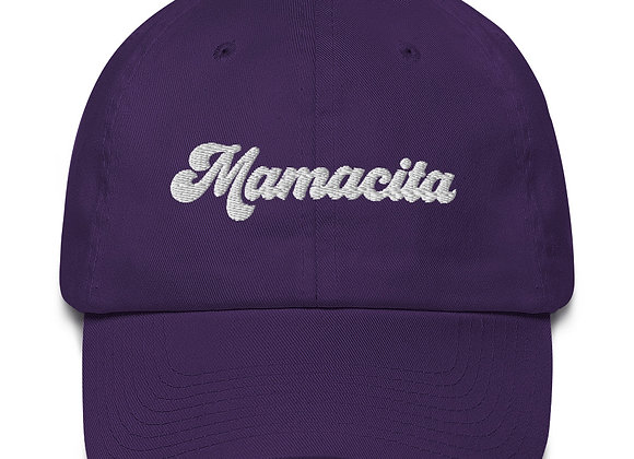 Mamacita Hat - White Embroidery