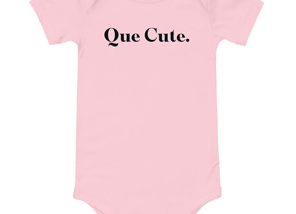 Que Cute - Onesie