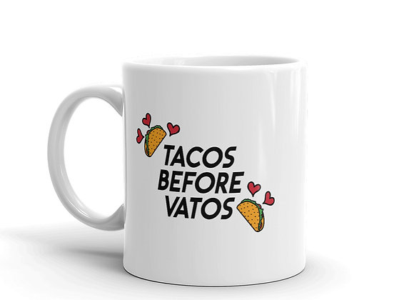 Tacos Before Vatos Mug