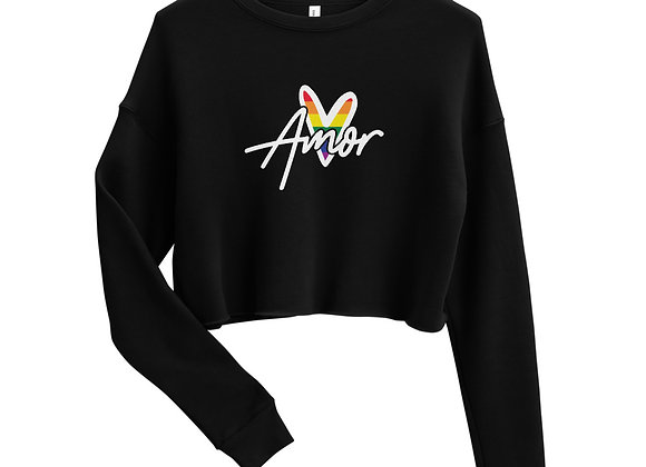 Pride Amor Crop Sweatshirt