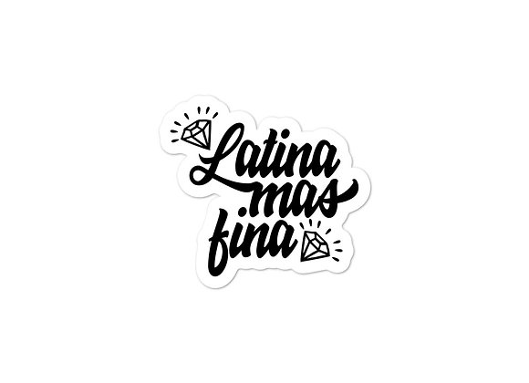 Latina Mas Fina Bubble-Free Stickers